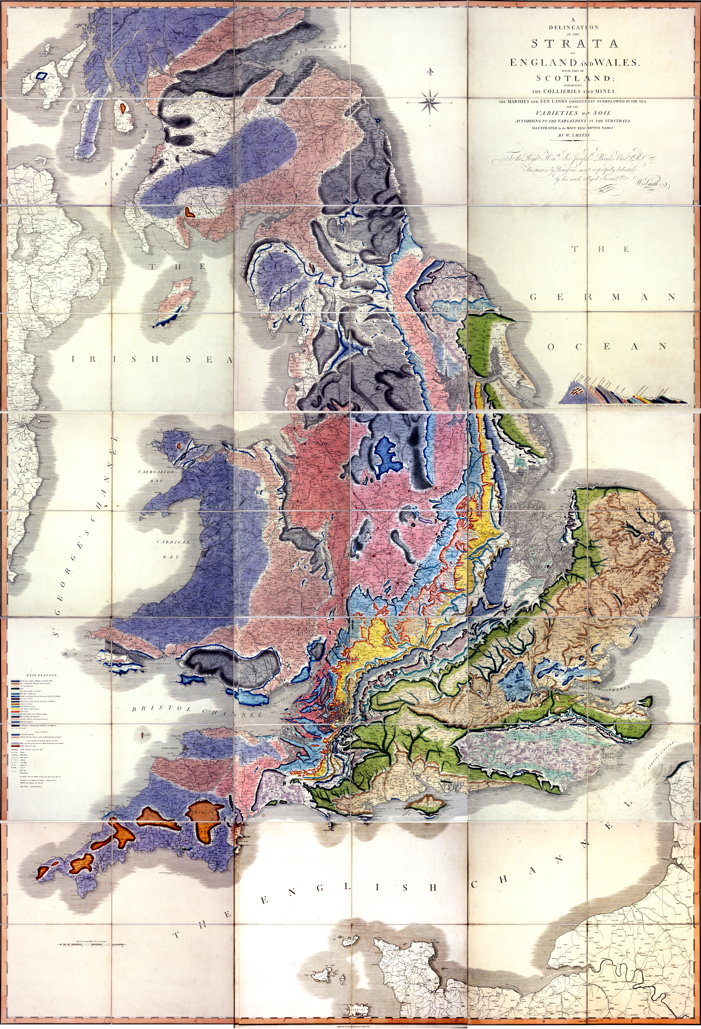 Geology rocks map of england and wales publicscrutiny Images