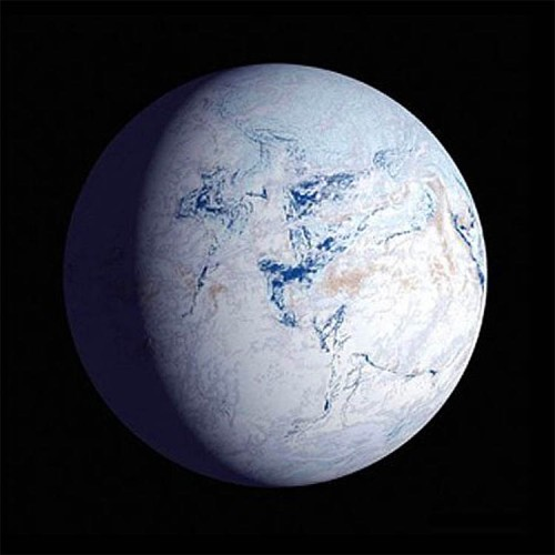 Plate tectonics artists impression of the glacial maximum of a snowball earth event source nasa fandeluxe