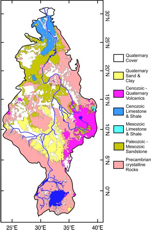 Nile geology F5