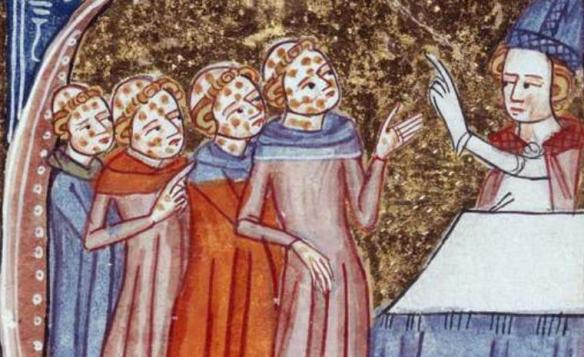 Volcanism and the Justinian Plague  